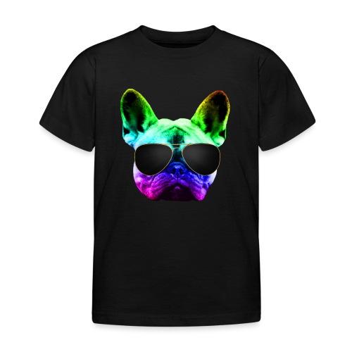 Rainbow Bouledogue Français - T-shirt Enfant