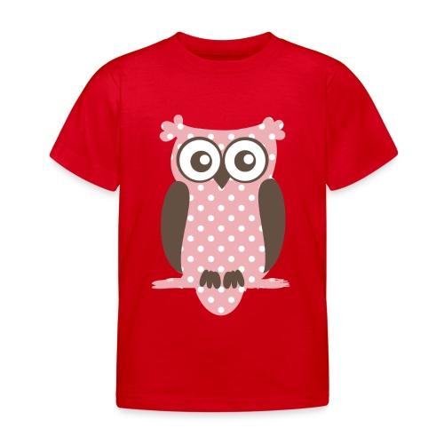 Eule - Kinder T-Shirt