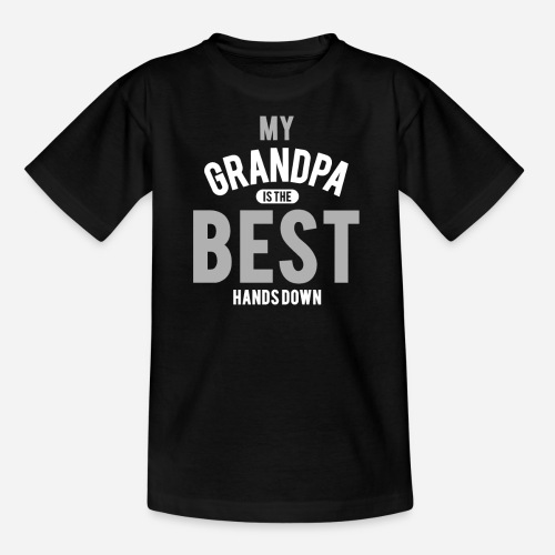 OmaAdele - Best Grandpa - Kinder T-Shirt