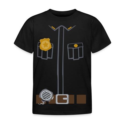 Police Tee Black edition - Kids' T-Shirt