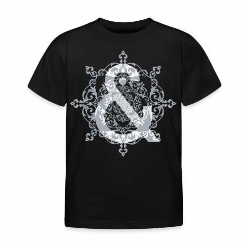 Escudo dark grey & ... - Camiseta niño