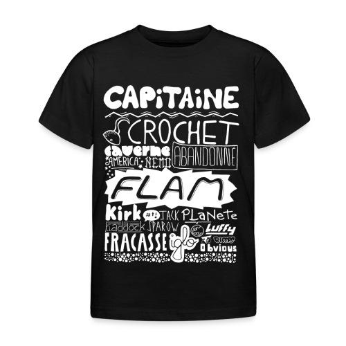capitaine-blanc Tee shirts - T-shirt Enfant