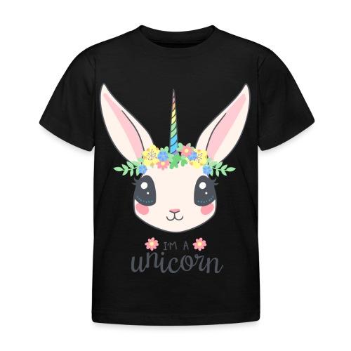 I am Unicorn - Kinder T-Shirt
