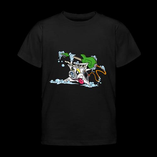 Wicked Washing Machine Wasmachine - Kinderen T-shirt