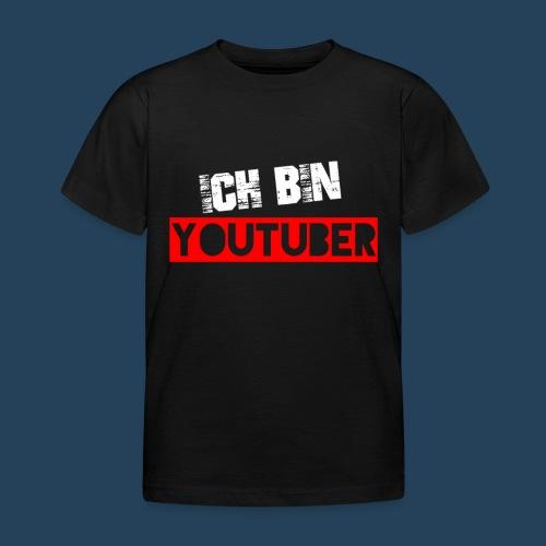Ich bin Youtuber! (for dark shirts) - Kinder T-Shirt