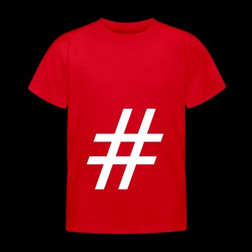Hashtag Team - Kinder T-Shirt