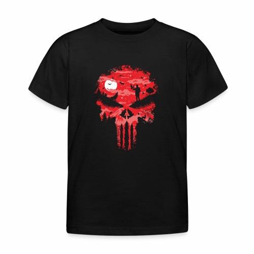 Night Skull - Lasten t-paita