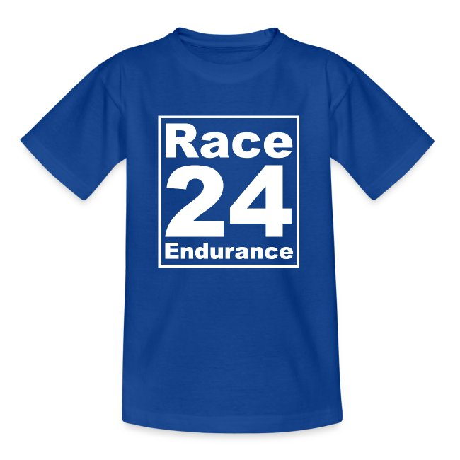 Race24 Logo - White