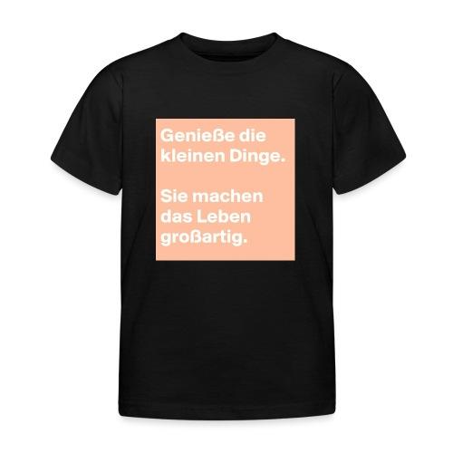 Sprüchekleidung - Kinder T-Shirt