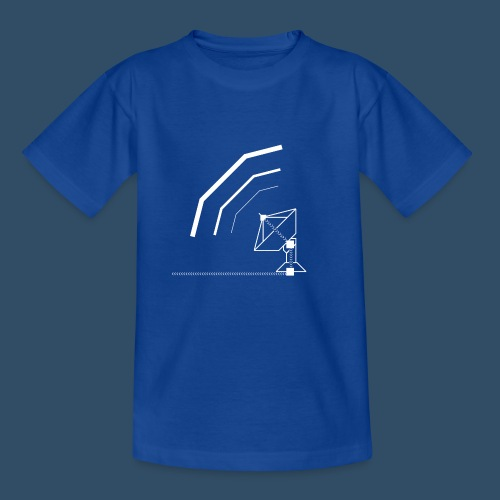Calling All Broadcasts Satellite Dish - Kids' T-Shirt
