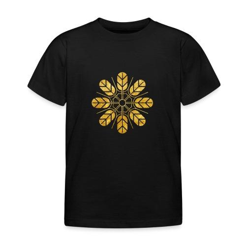 Inoue clan kamon in gold - Kids' T-Shirt