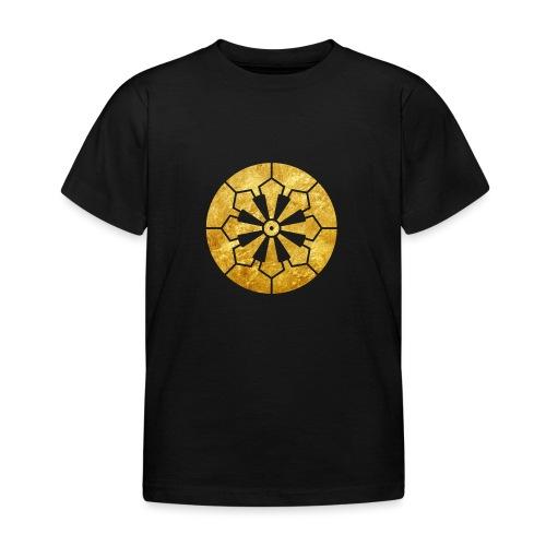 Sanja Matsuri Komagata mon gold - Kids' T-Shirt