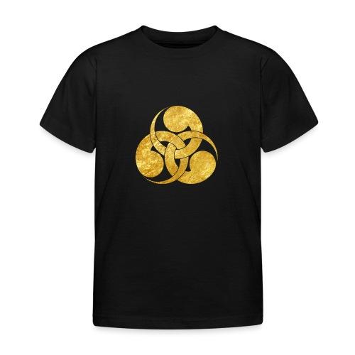 Tadpole Mon Japanese samurai clan - Kids' T-Shirt