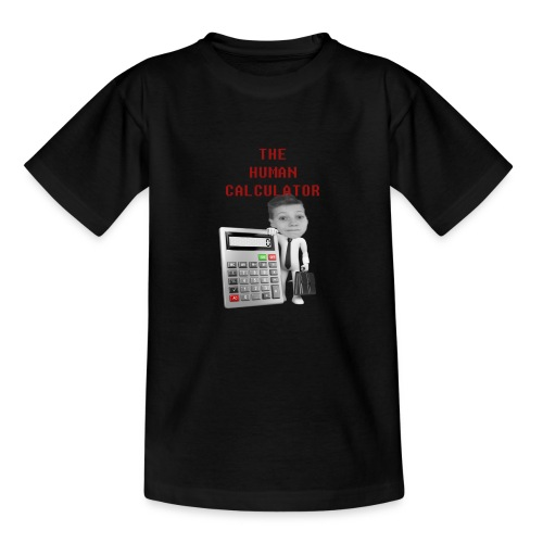 The Human Calcutor - T-shirt barn