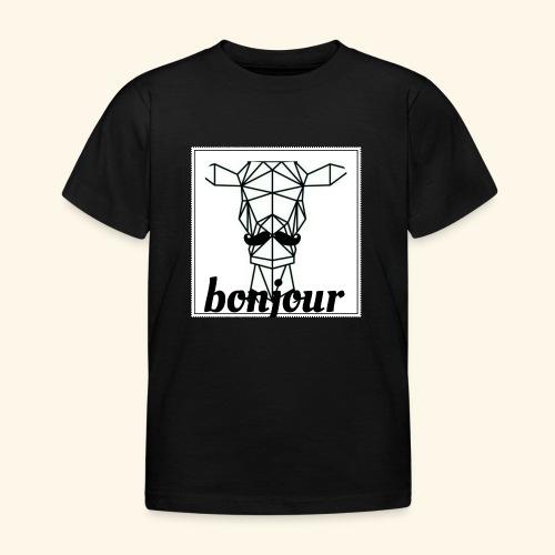 Bonjour - Kinderen T-shirt