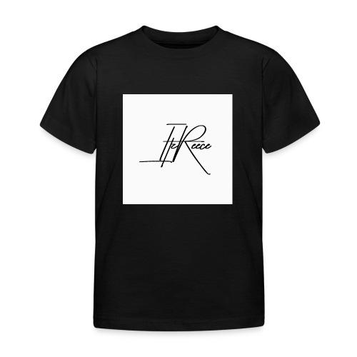Small logo white bg - Kids' T-Shirt