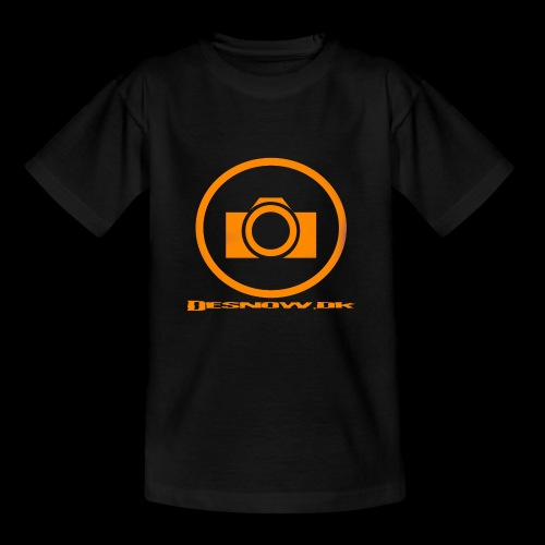 Orange 2 png - Børne-T-shirt