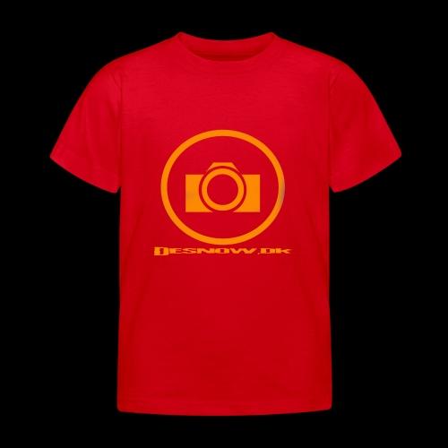 Orange 2 png - Børne-T-shirt
