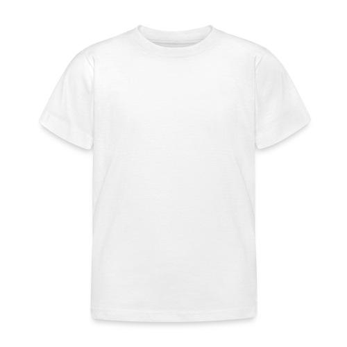 Fantasy hvid scribblesirii - Børne-T-shirt