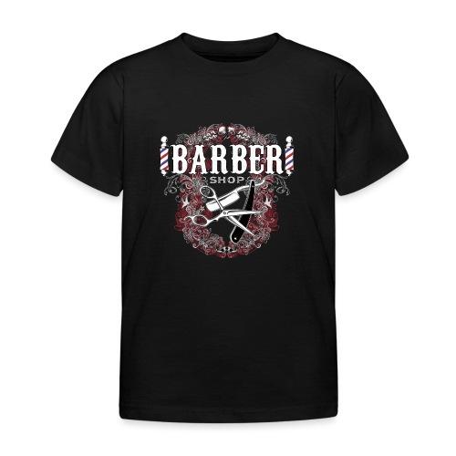Barber Shop_03 - Maglietta per bambini