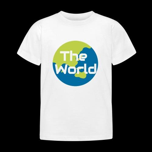 The World Earth - Børne-T-shirt