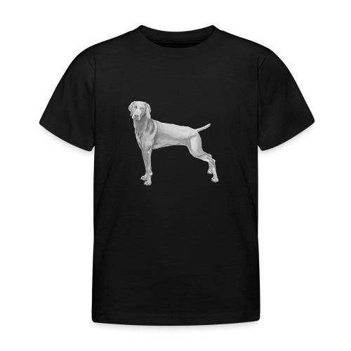 weimaraner - Børne-T-shirt