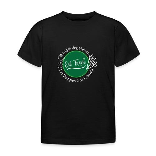 Gezond eten vegetarische t-shirt - Kinderen T-shirt
