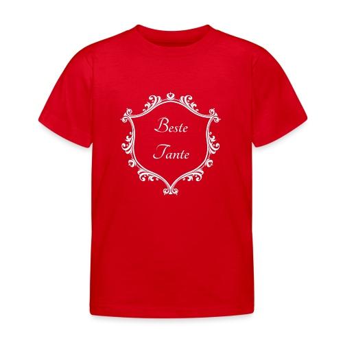 Beste Tante - Kinder T-Shirt