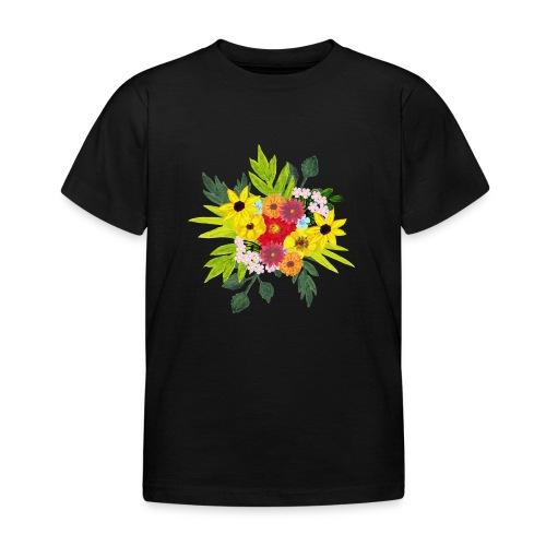 Flower_arragenment - Kids' T-Shirt