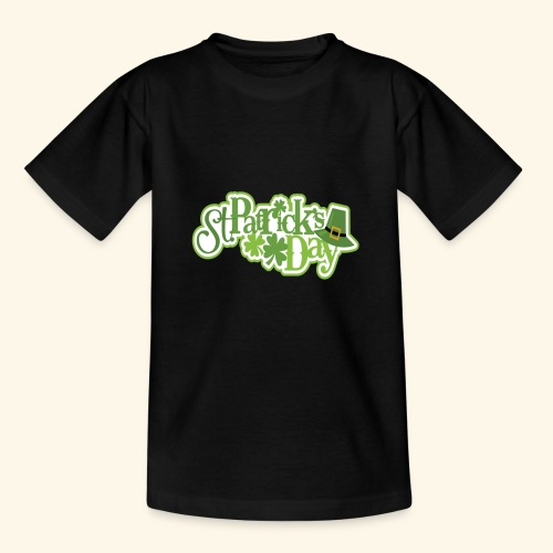 St Patrick`s Day Leprechaun Riding fun gift tshirt - Kids' T-Shirt