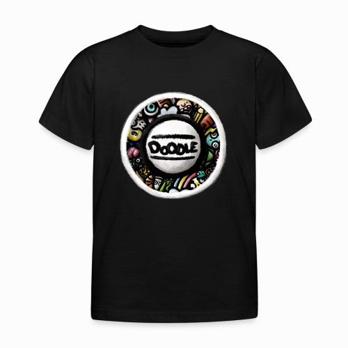 Sticker Doodle Art - T-shirt Enfant