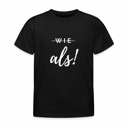 Grammatik ist King - Kinder T-Shirt