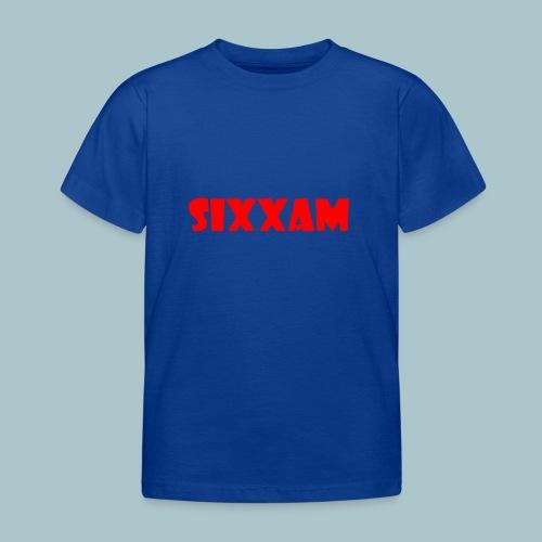 sixxam logo rood - Kinderen T-shirt