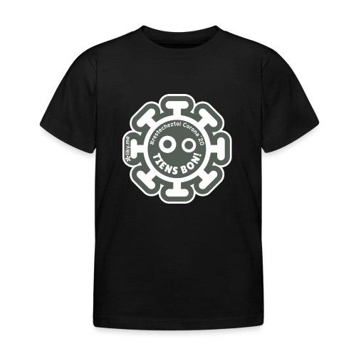 Corona Virus #restecheztoi gris - Camiseta niño