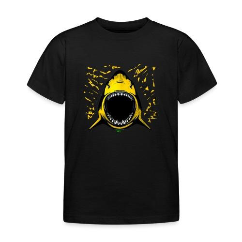 Zitronenhai splash - Kinder T-Shirt