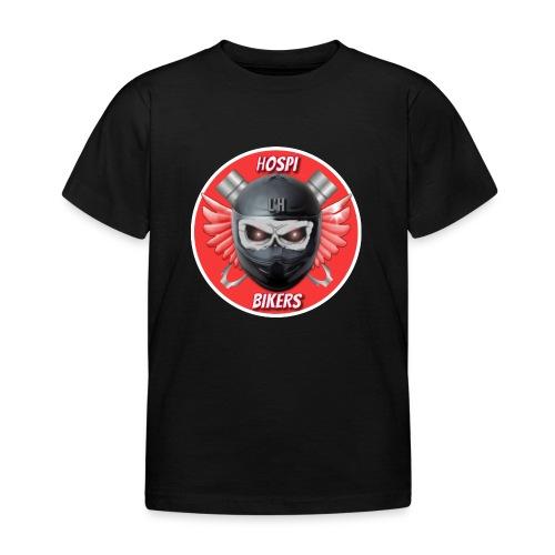 logo hospibikers - Camiseta niño