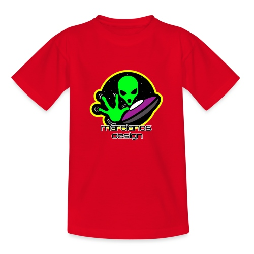 Logo Marcianos - Camiseta niño
