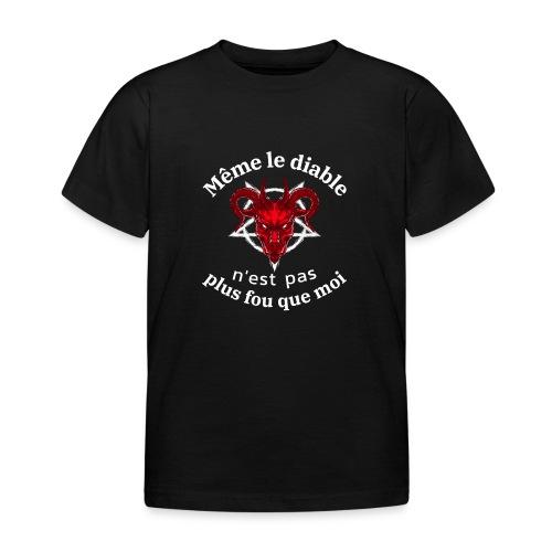 diable 666 - T-shirt Enfant