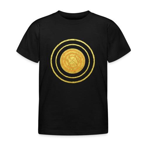 Glückssymbol Sonne - positive Schwingung - Spirale - Kinder T-Shirt