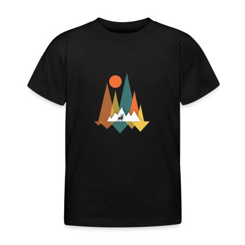 Berge - Kinder T-Shirt