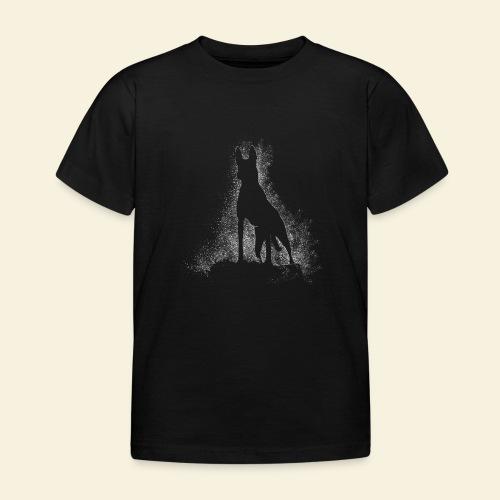 Dog Silhouette - Kinder T-Shirt