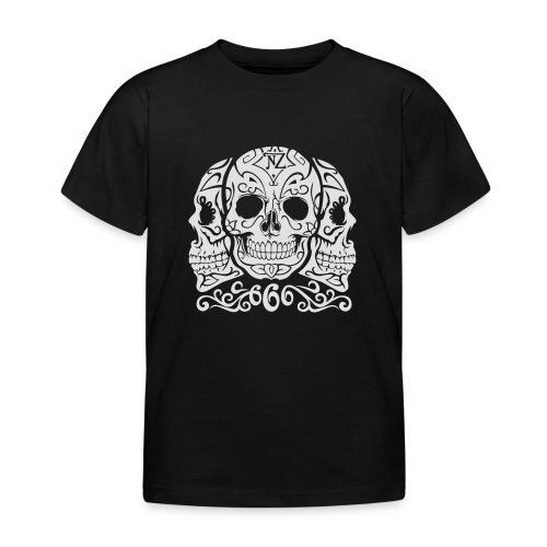 Skull Dia de los muertos - T-shirt Enfant