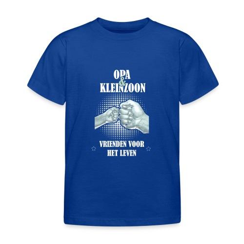 Opa & Kleinzoon vrienden voor het leven - Kinderen T-shirt