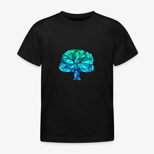 Low-Poly Tree G&B - Kinderen T-shirt