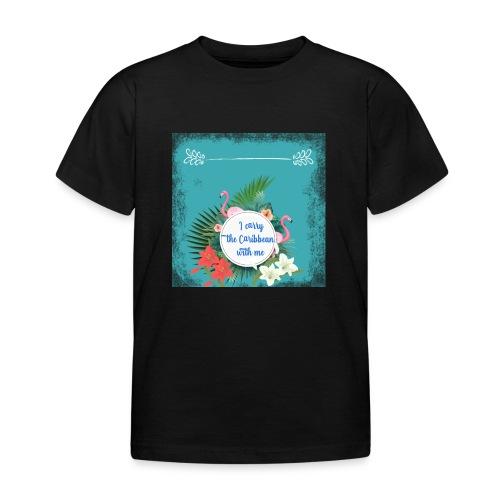The caribean inside - Camiseta niño