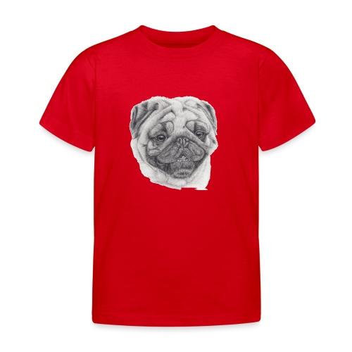 Pug mops 2 - Børne-T-shirt