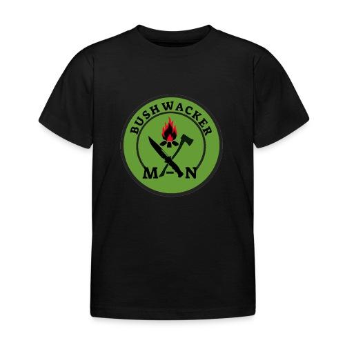 bushwackers logo green - Kids' T-Shirt