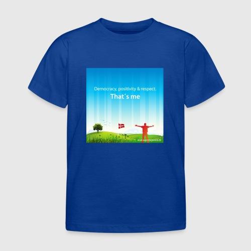 Rolling hills tshirt - Børne-T-shirt