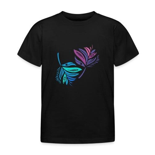 foglie geometriche - Maglietta per bambini