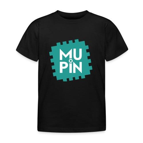Logo Mupin quadrato - Maglietta per bambini
